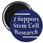 I Support Stem Cell Research Magnet