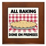 Baking Done On Premises Plaque