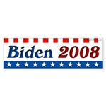 Joe Biden for President 2008 bumper sticker