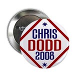 Chris Dodd 2008 Pinback Button