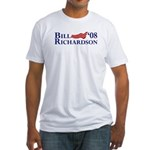 Bill Richardson '08 Flag Fitted T-Shirt