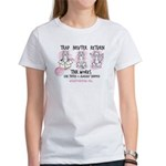 Wish TNR 3 Cats - Black Text T-Shirt