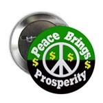 Peace Brings Prosperity Button