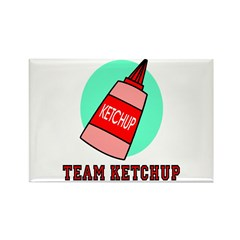 Team Ketchup Rectangle Magnet