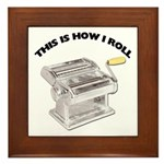 How I Roll Pasta Plaque