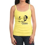 Re-Elect Gore Jr. Spaghetti Tank
