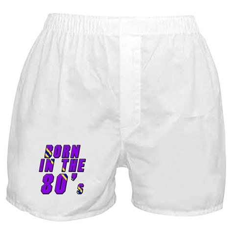 1980's, 80s  80s Boxer Shorts by CafePress