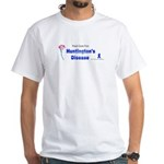 Huntington Cure White T-Shirt