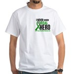 Cerebral Palsy Real Hero 2 White T-Shirt