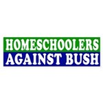 Homeschoolers Against Bush (sticker)