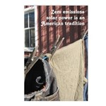 Solar Power Clothesline Postcards