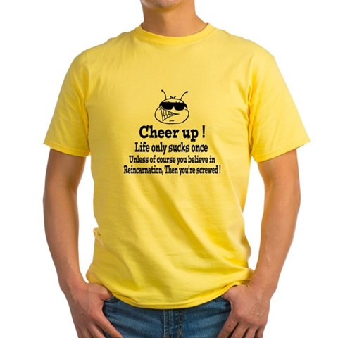 Product Image of Cheer Up! Yellow T-Shirt