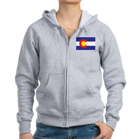 Product Image of Colorado State Flag Zip Hoodie