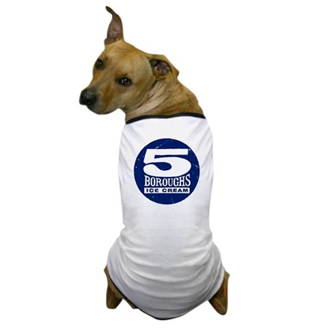 5 Boroughs  Countries / regions / cities Dog T-Shirt by CafePress