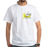Spina Bifida AlwaysHope1 White T-Shirt