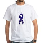 I Care About Huntington's Disease White T-Shirt
