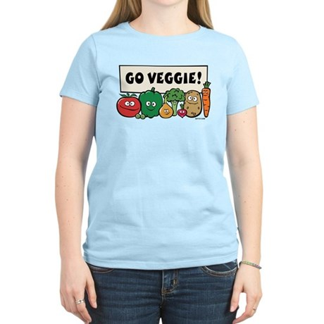 Go Veggie! Women's Light T-Shirt