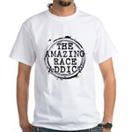 The Amazing Race Addict White T-Shirt