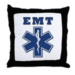 EMT Throw Pillows, t-shirts, tote bags with matching EMS theme watches, key rings, decals, stickers, buttons and keepsakes! Our best selling EMT theme designs...