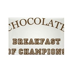 Breakfast Champions Chocolate Magnet