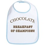 Breakfast Champions Chocolate Bib