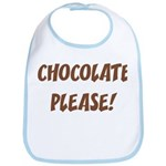 Chocolate Please Bib