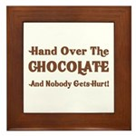 Hand Over The Chocolate Plaque