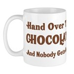 Hand Over The Chocolate Mug