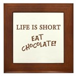 Eat Chocolate Plaque