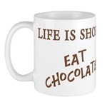 Eat Chocolate Mug