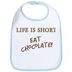 Eat Chocolate Bib