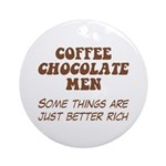 Coffee Chocolate Men Ornament