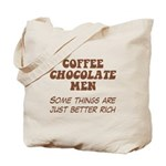 Coffee Chocolate Men Tote Bag