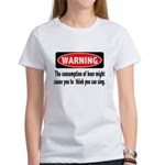 Beer Warning Women's T-Shirt