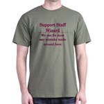 Support Staff Wizard T-Shirt