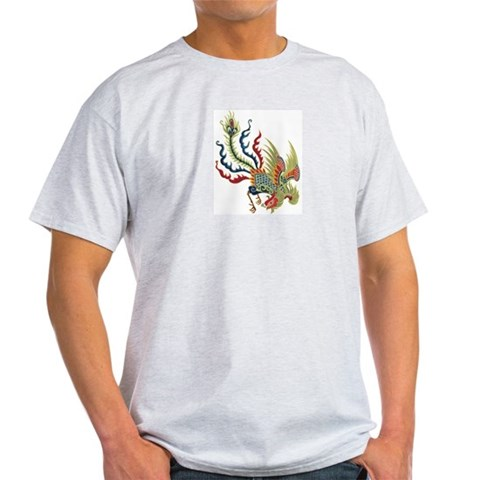 Chinese Rooster Christmas gift xmas gift birthday gift Light T-Shirt by CafePress