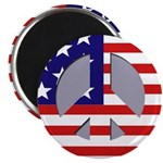 Patriotic Peace Magnet (100 Magnets)