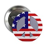 Patriotic Peace Buttons (10 pack)