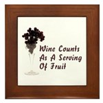 Wine Diet Plaque