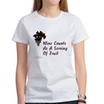 Wine Diet Women's T-Shirt