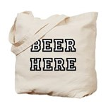 Beer Here Tote Bag