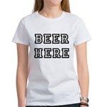Beer Here Women's T-Shirt