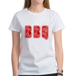 Red White & Blue BBQ Women's T-Shirt
