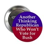 Another Thinking Republican Bush Button