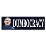 Bush Dumbocracy (Bumper Sticker)