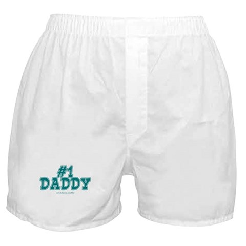 1 Daddy  Dad Boxer Shorts by CafePress