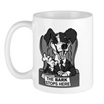 The Bark Stops Here Mug