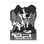 The Bark Stops Here Postcards (Package of 8)