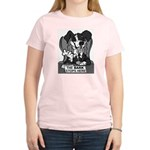 The Bark Stops Here Women's Light T-Shirt