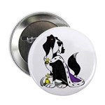 """Dog Royalty 2.25"""" Button (10 pack)"""